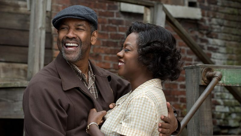 Denzel Washington and Viola Davis in FencesDavid Lee/Paramount Pictures