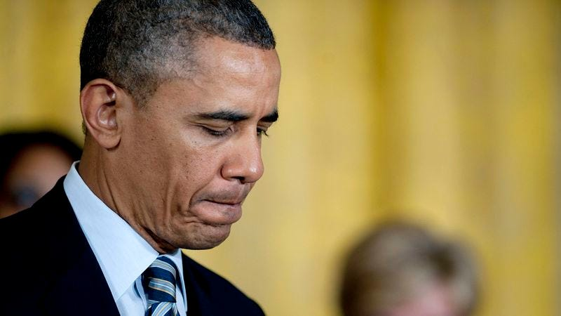 Illustration for article titled Obama Deeply Concerned After Syrians Gassed To Death On White House Lawn