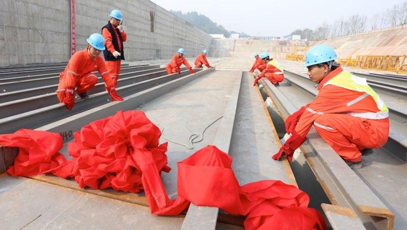 Construyen en China el Titanic con las dimensiones exactas al original