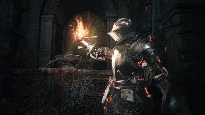 Illustration for article titled The Nostalgic Moment In Dark Souls 3 That Made Me Go 'Oh, Shit'