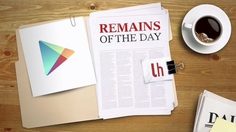 Illustration for article titled Remains of the Day: The Google Play Store Gets a Redesign
