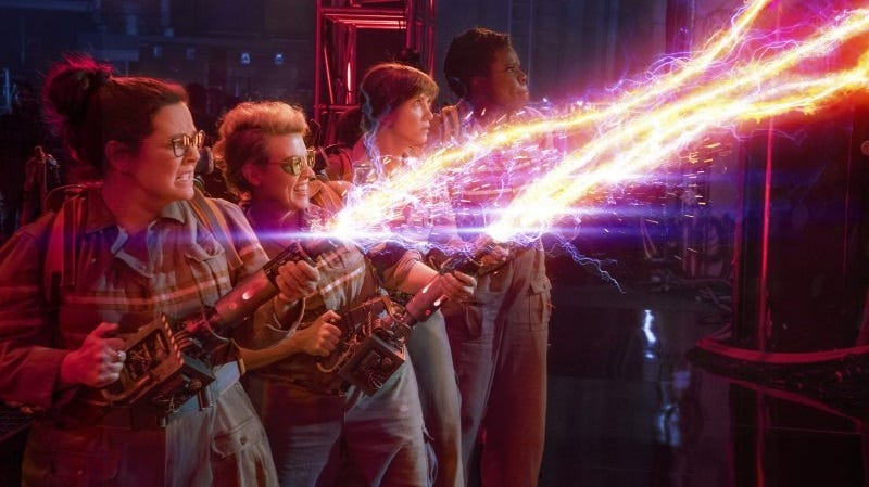 Illustration for article titled He visto Ghostbusters y no es perfecta, pero es tan divertida que no va a importarte