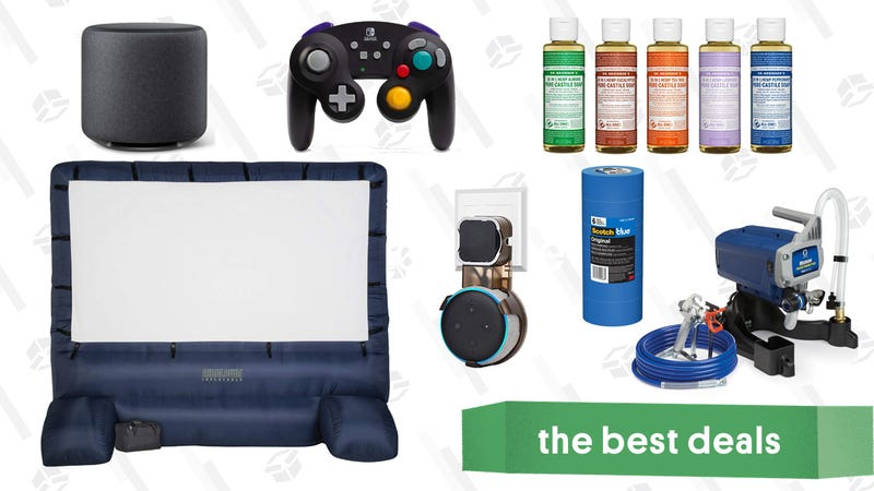 Illustration for article titled Saturday's Best Deals: Wayfair Home Renovation Sale, Casper Pillows, Echo Dot Wall Mount, and More