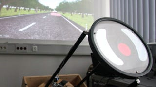 Illustration for article titled Researchers test touch-screen steering wheels