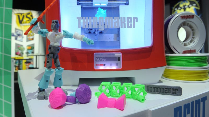 Illustration for article titled Mattel lanzará una impresora 3D para niños por 300 dólares