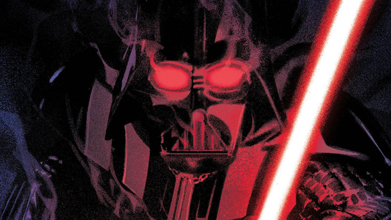 Cover art for Shadow of Vader #1.