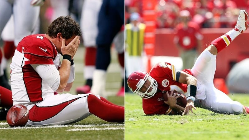 Illustration for article titled Matt Cassel And Kevin Kolb Are Getting Cut