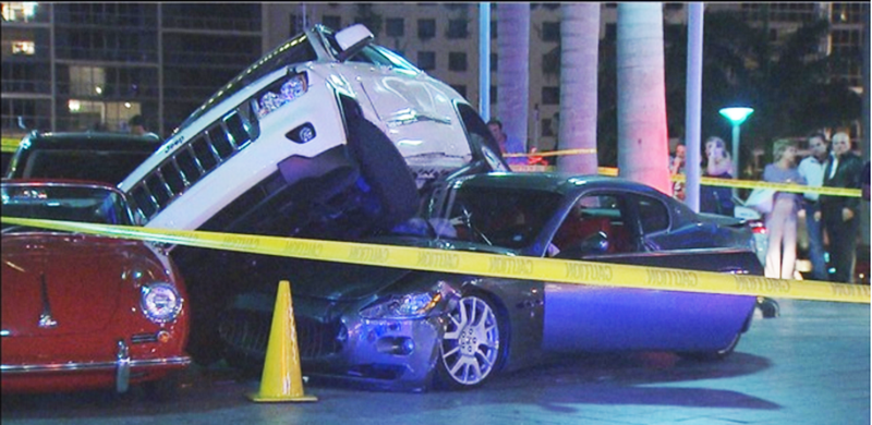 Photo credit: Local news screencap from this nightmare incident.