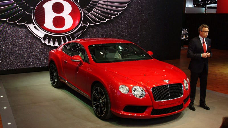 Illustration for article titled The 2013 Bentley Continental GT V8 Will Confuse The Moneyed Few