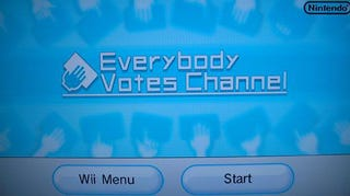 Illustration for article titled Wii Channel Lets Everybody Vote on Frivolous Things