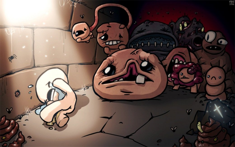 Illustration for article titled The Binding Of Isaac: Rebirth Rejected By Apple Due To Violence Against Children