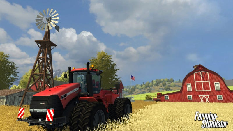 Illustration for article titled Farming Simulator. On Consoles. In September. Yes.