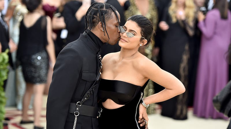Illustration for article titled Kylie Jenner and Travis Scott Are Probably Not Getting Married in Italy, Maybe?