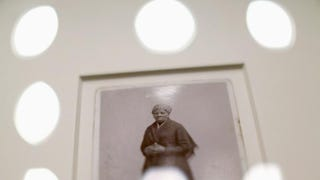 A recently found photograph (circa 1885) of escaped slave, abolitionist and Union spy Harriet Tubman that was acquired by the Smithsonian in Washington, D.C., on June 17, 2015Chip Somodevilla/Getty Images