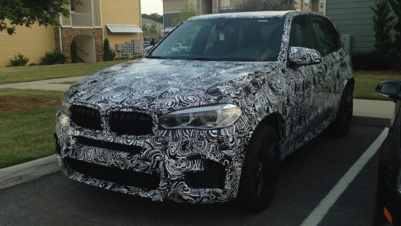 Illustration for article titled By The Beard Of Zeus, The 2015 BMW X5 M Can Go 186 MPH