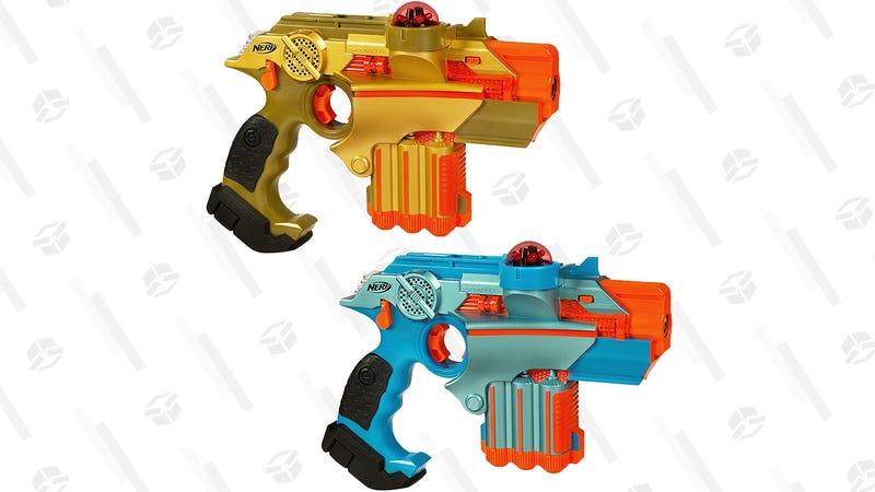 Nerf Lazer Tag Phoenix LTX Tagger 2-Pack | $40 | Amazon