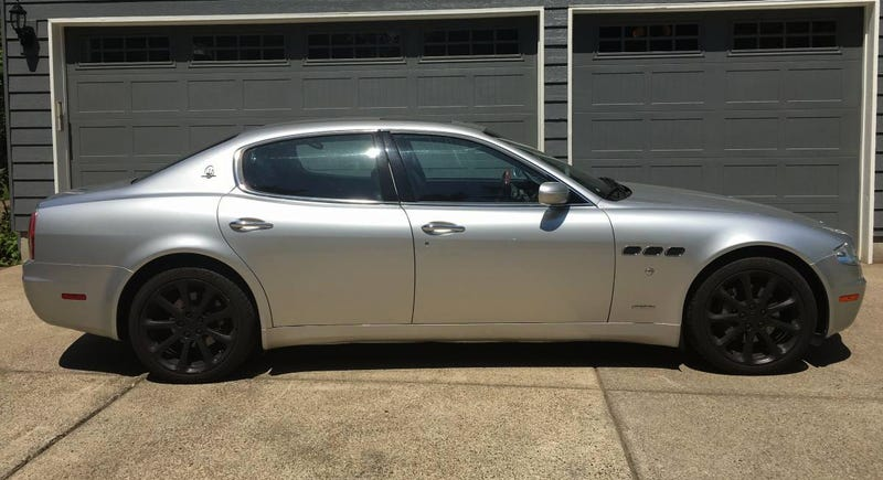 Illustration for article titled For $17,500, Is This 2006 Maserati Quattroporte Worth It For The Exhaust Note Alone?