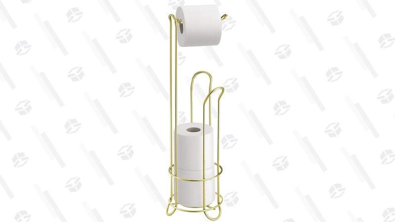 InterDesign Toilet Paper Holder | $13 | Amazon