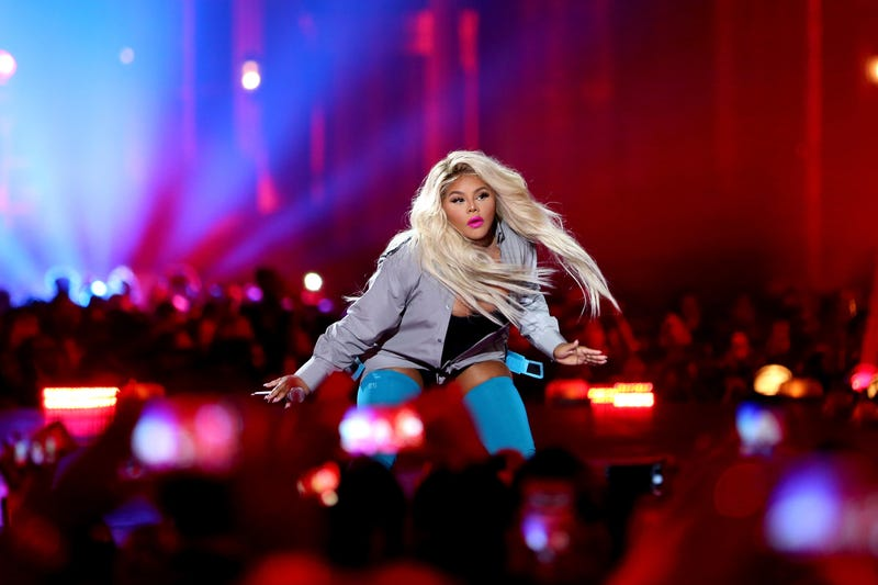 Lil' Kim performs onstage during VH1 Hip Hop Honors: The 90s Game Changers on Sept. 17, 2017, in Los Angeles.