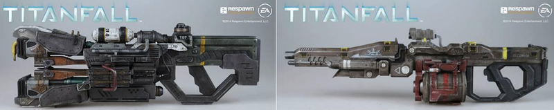 Illustration for article titled The New Titanfall Toy Will Come With Different Guns