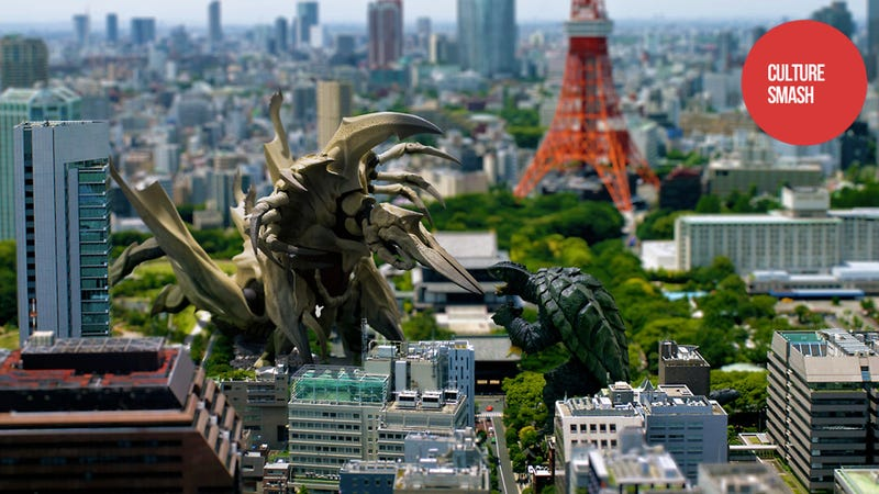 Illustration for article titled Tokyo Was Made for Giant Monsters, Giant Girls, and Camera Tricks