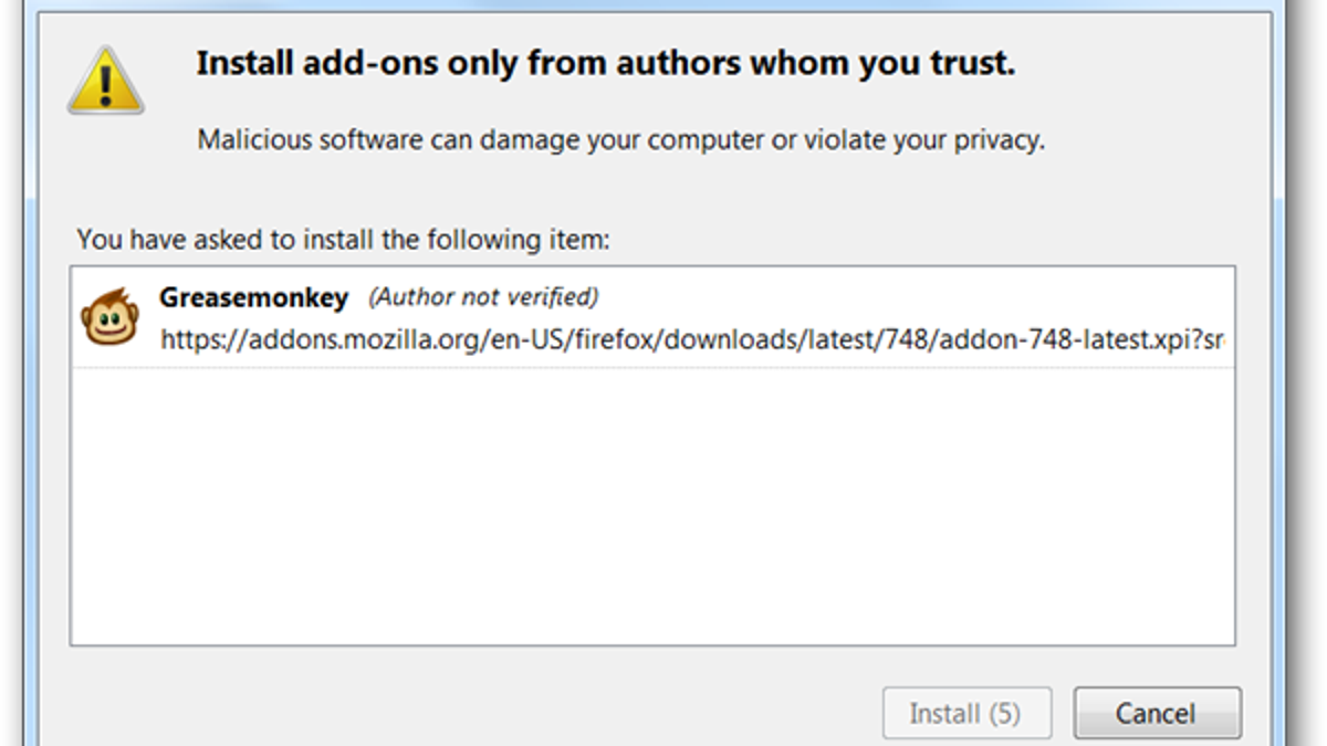 How To Bypass Firefox 4 0 Beta's Incompatible Add-on Error and
