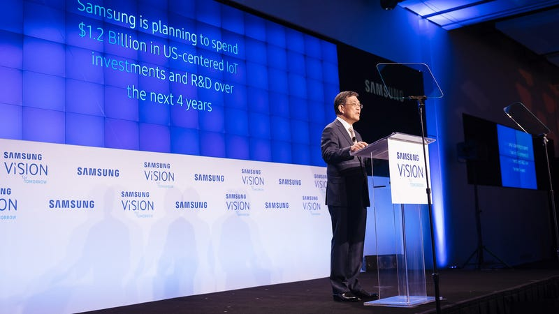 Samsung Electronics Co CEO resigns