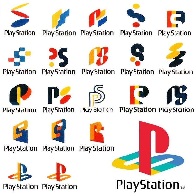 Illustration for article titled These Ugly Designs Could Have Been The Playstation Logo