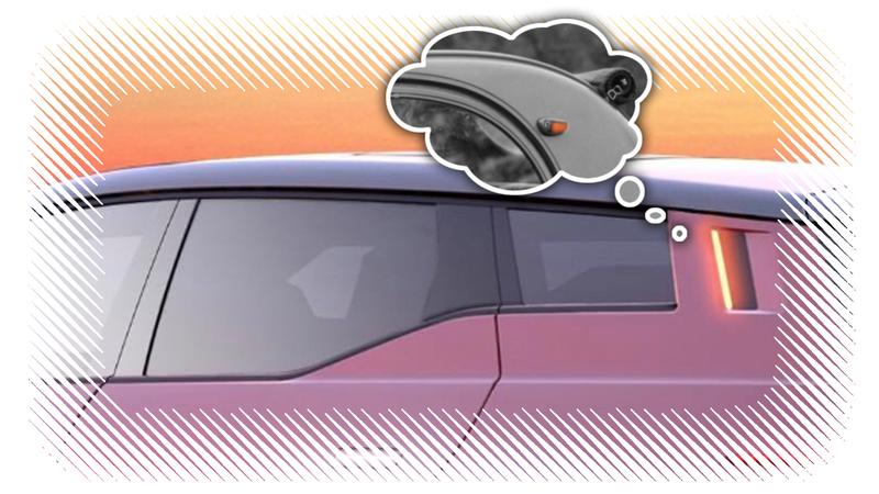 Illustration for article titled Fisker's Bold New Turn Indicator Innovation Is Really a Resurrection of an Old Idea