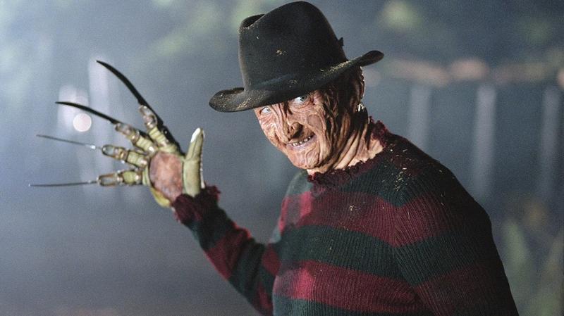 Freddy's always ready for Halloween.
