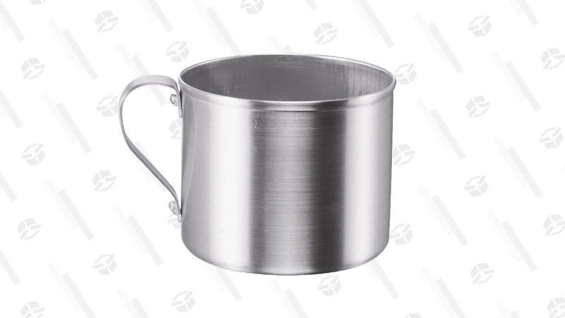 IMUSA Aluminum Mug for Stovetop Use or Camping 1.25-Quart, Silver   $2   Amazon