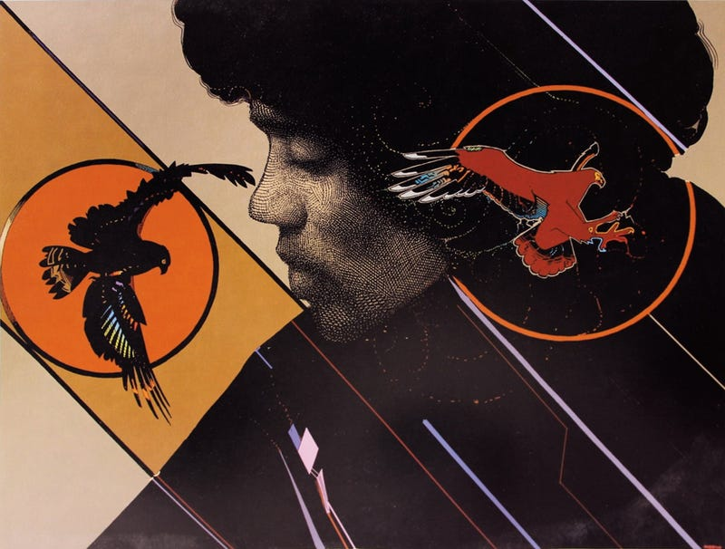 Illustration for article titled Hendrix By Moebius