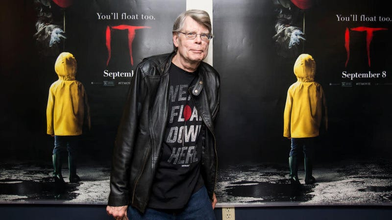 Stephen King at a screening of It: Chapter One back in 2017.