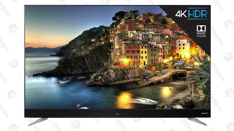 "TCL C-Series 55"" 4K Dolby Vision TV   $400   Walmart"