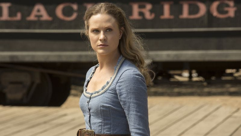 Evan Rachel Wood in Westworld (Photo: John P. Johnson/HBO)