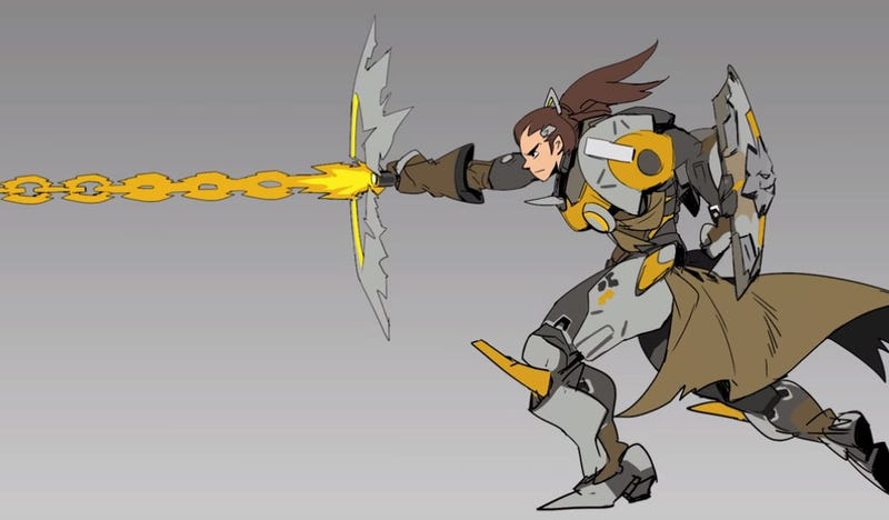 Illustration for article titled Behind The Scenes Of The Creation Of Brigitte, Overwatch's Newest Hero