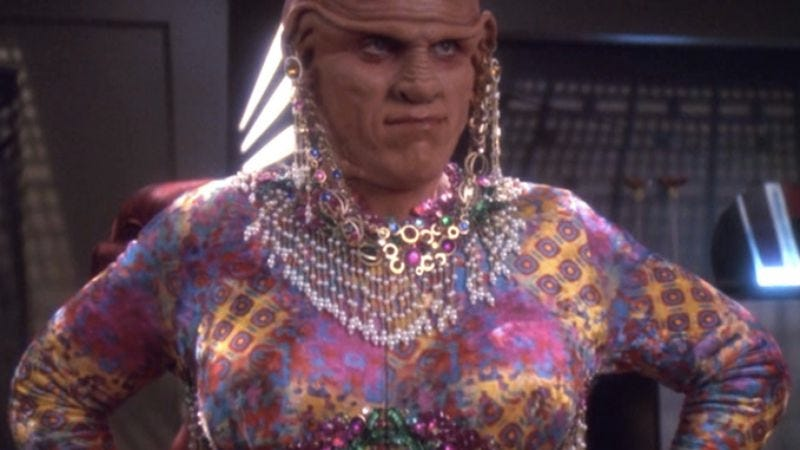 """Illustration for article titled Star Trek: Deep Space Nine: """"Valiant""""/""""Profit And Lace"""""""