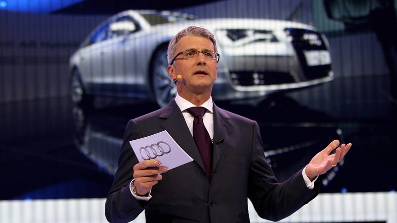 Illustration for article titled Audi Finally Terminates Exec Jailed For Months Over Dieselgate