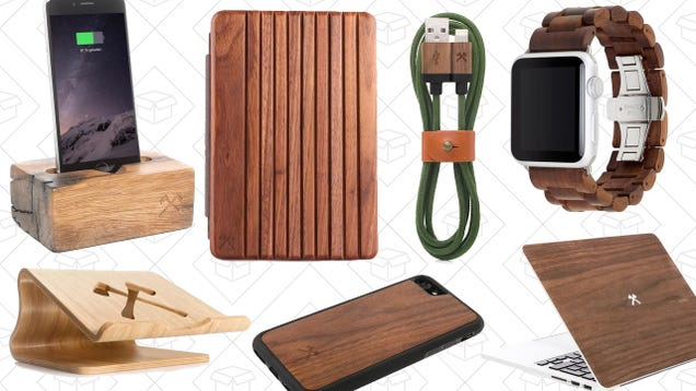 Woodcessories Makes Apple Gear You Can Feel Good About