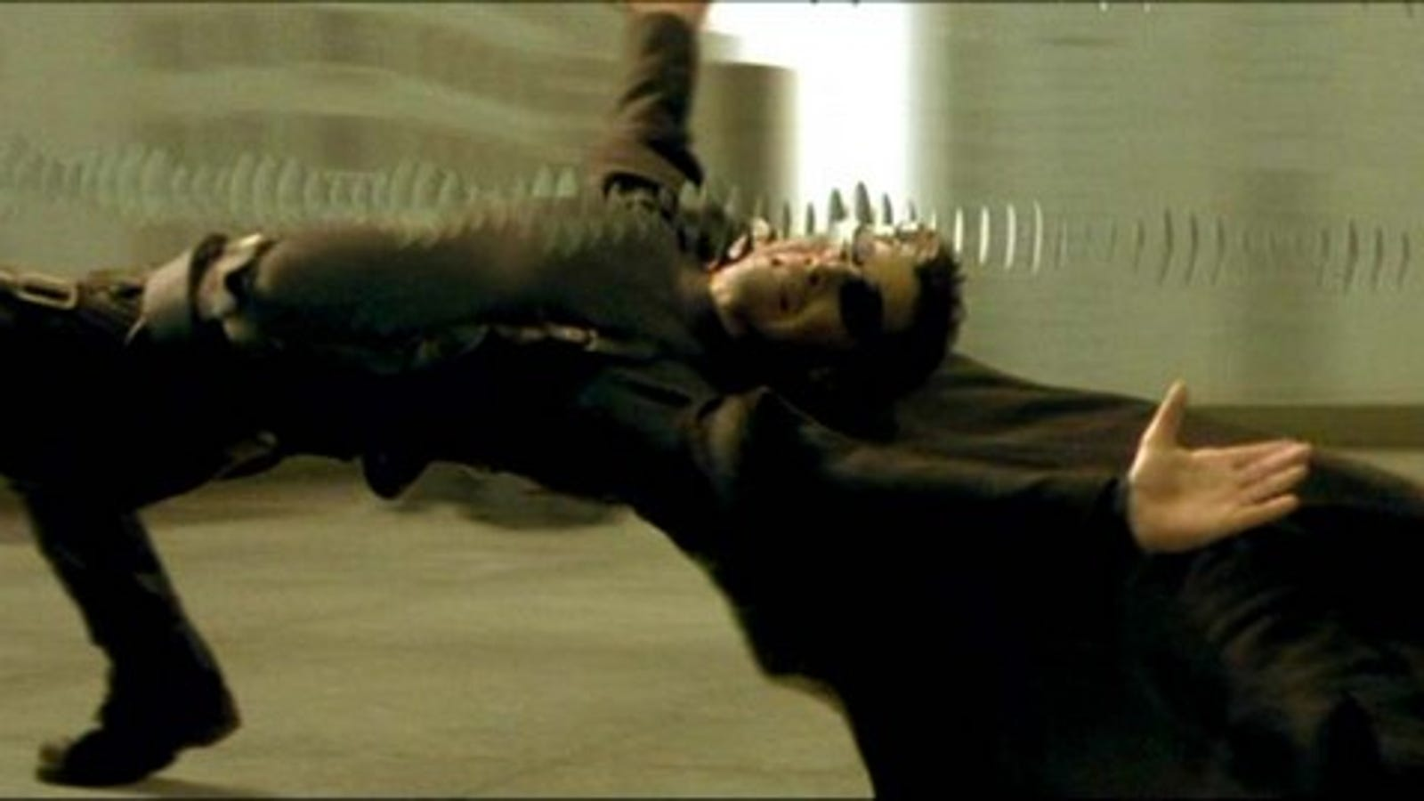 Image result for the matrix bullet dodging