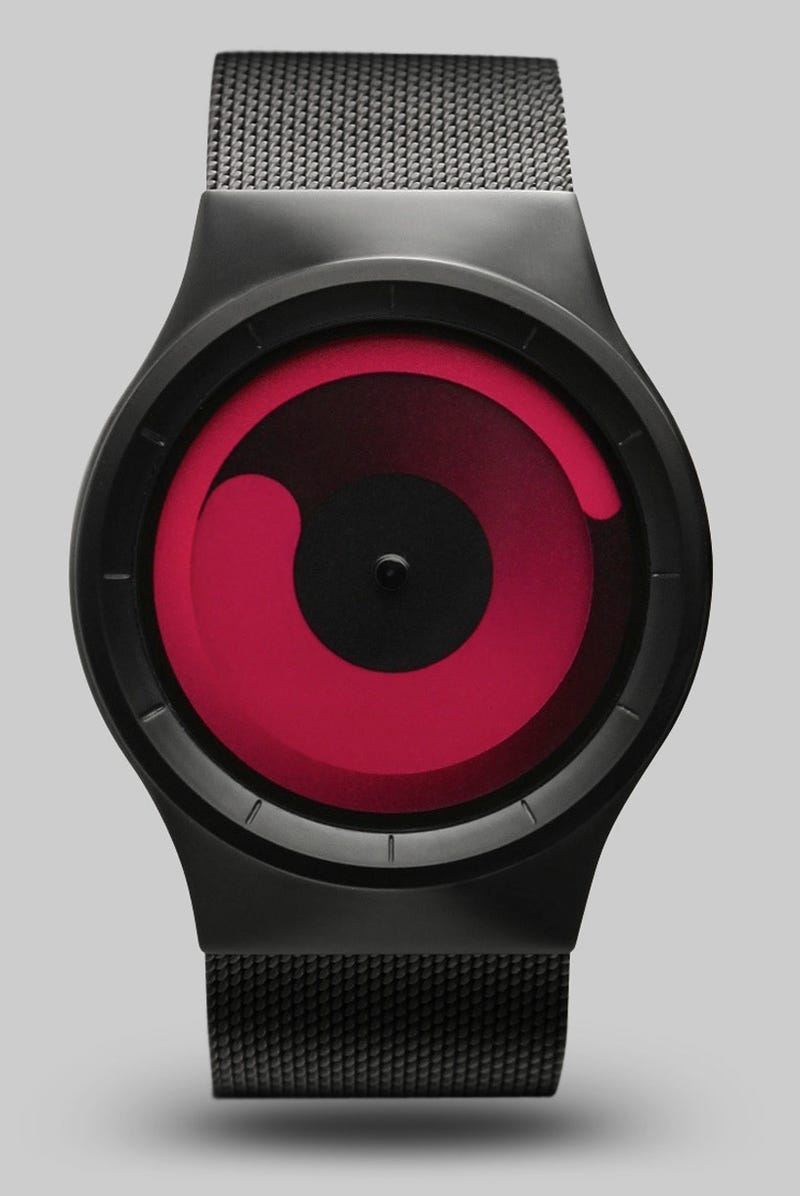 Illustration for article titled Your New Watch Doesn't Have Hands, Just Circles