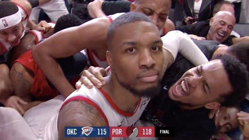 Damian Lillard Eliminates Thunder In Completely Psychotic Fashion