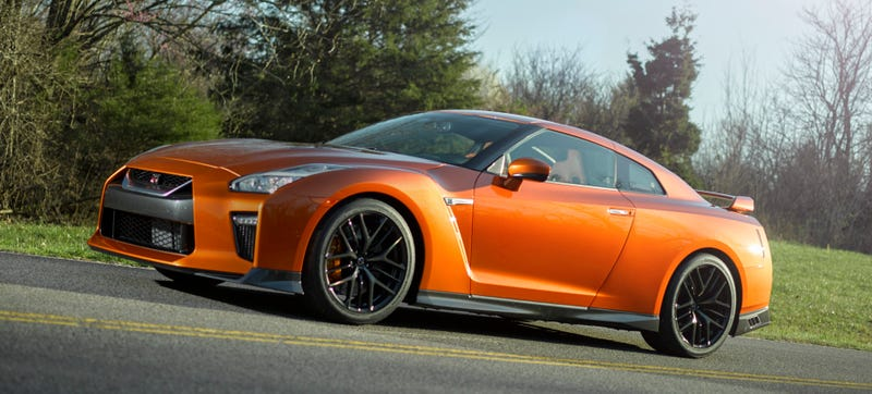 Illustration for article titled 2017 Nissan GT-R: More Power, More Comfort, New Nose, Still Stupid Fast