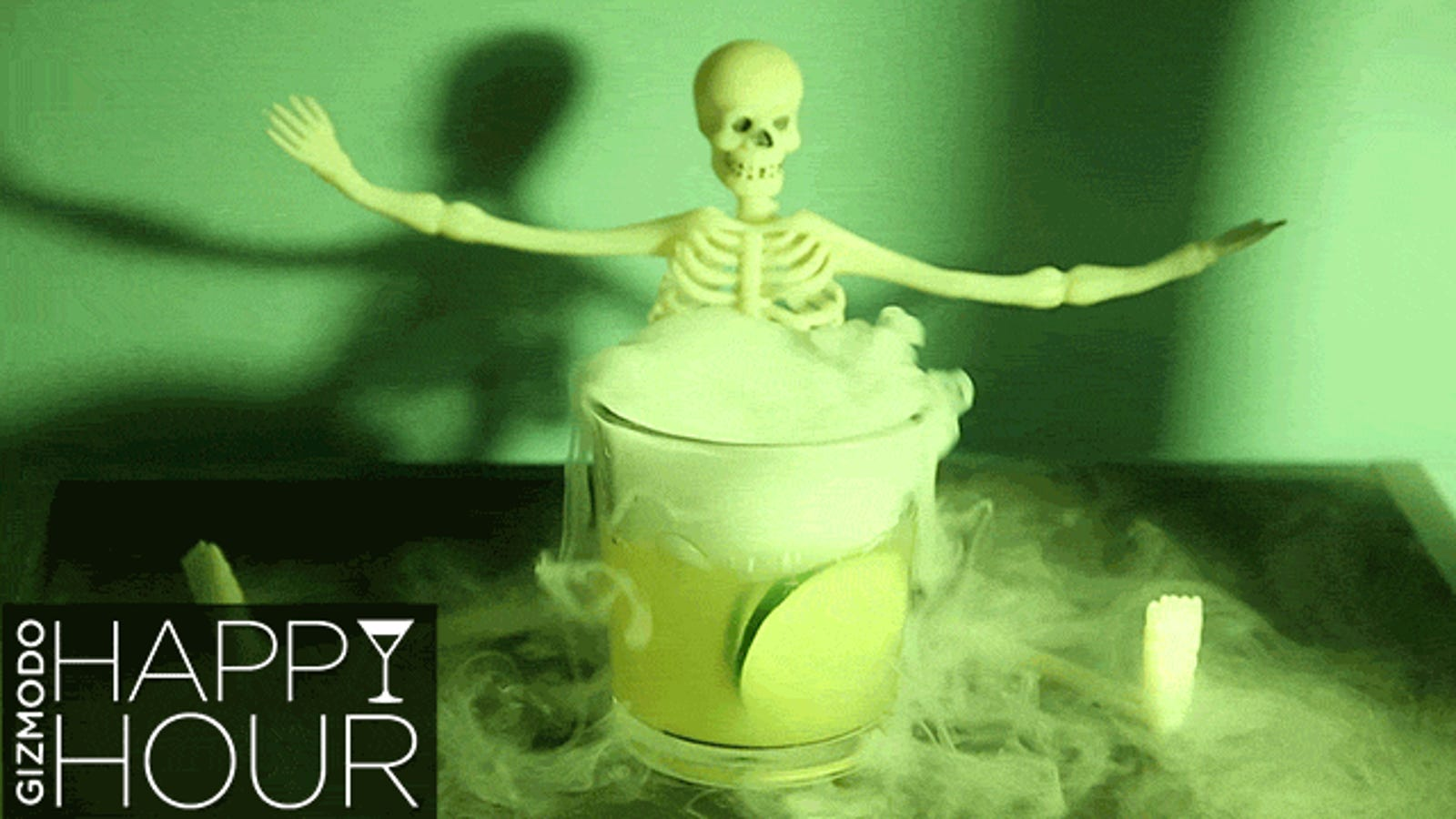 Halloween Cocktails + Dry Ice: A Spooky, Drunken Primer