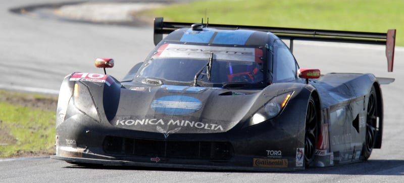 Illustration for article titled Wayne Taylor Racing Loses 3rd Place At Rolex 24 For Drive Time Violation