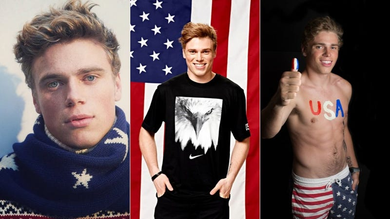 Illustration for article titled Puppy-Loving Olympic Silver Medalist Gus Kenworthy for President