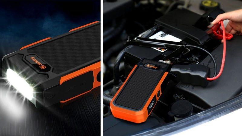 Jackery Spark Car Jump Starter, $64 with code OLNOVCSS