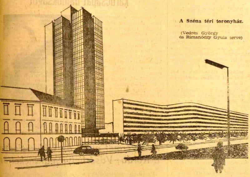 Illustration for article titled Úristen, de jó lett volna, ha felépül a Széna téri felhőkarcoló