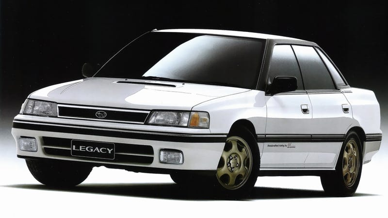 Illustration for article titled The First Subaru STI Was This Forgotten Record-Breaking Legacy