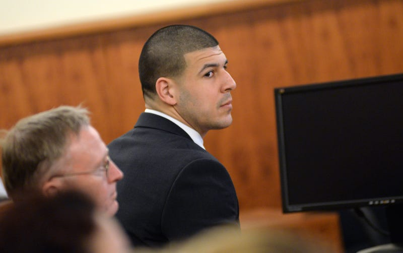 Illustration for article titled Aaron Hernandez Indicted For Shooting A Guy In The Face
